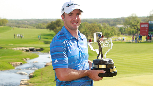 Martin Laird wins the 2013 Valero Texas Open