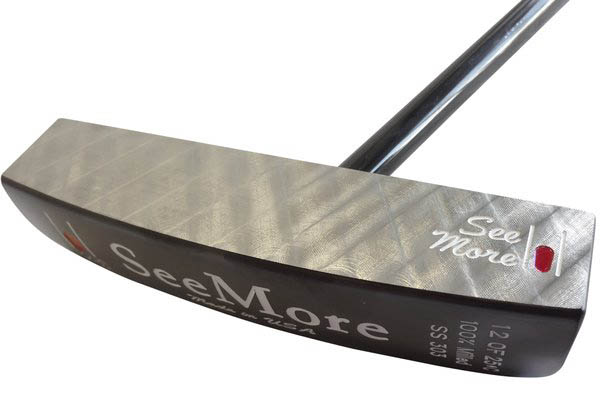SeeMore Private Reserve FGP Black Putter