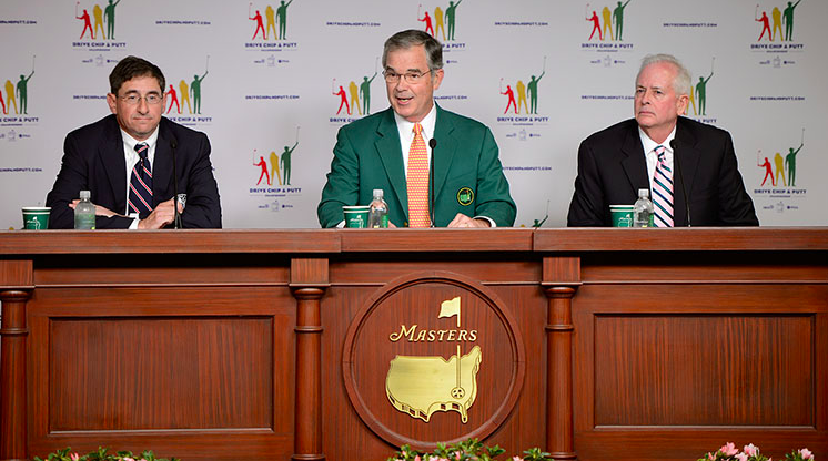 Announcement of the Drive, Chip and Putt Championship at Augusta National