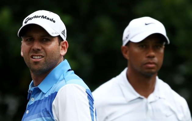 Tiger responds to Sergio's inappropriate comments via Twitter