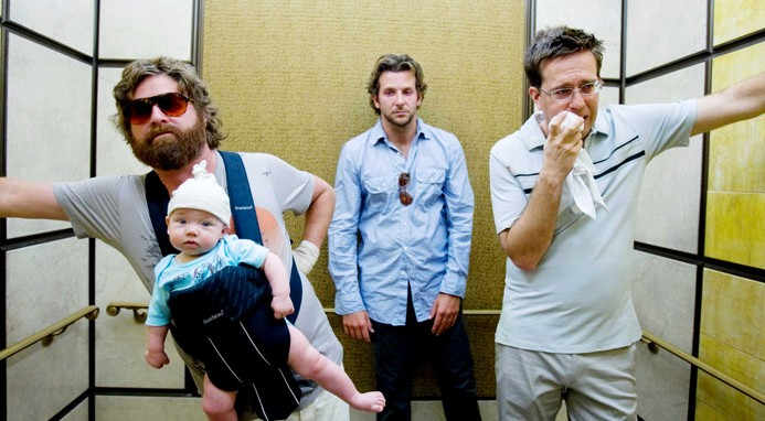 Dufnering in The Hangover