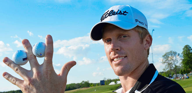 Australian Andrew Dodt makes two aces at Nordea Masters