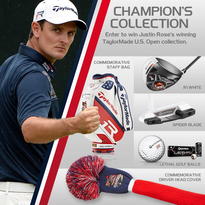 TaylorMade's 'Champions Collection Sweepstakes'