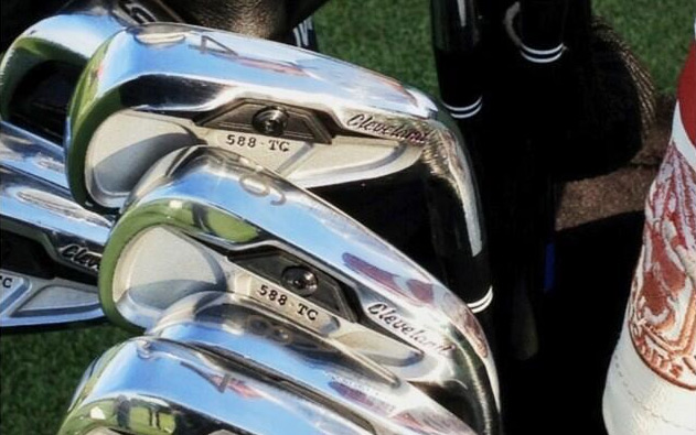 Keegan Bradley's 588 TC Prototype Irons from Cleveland Golf