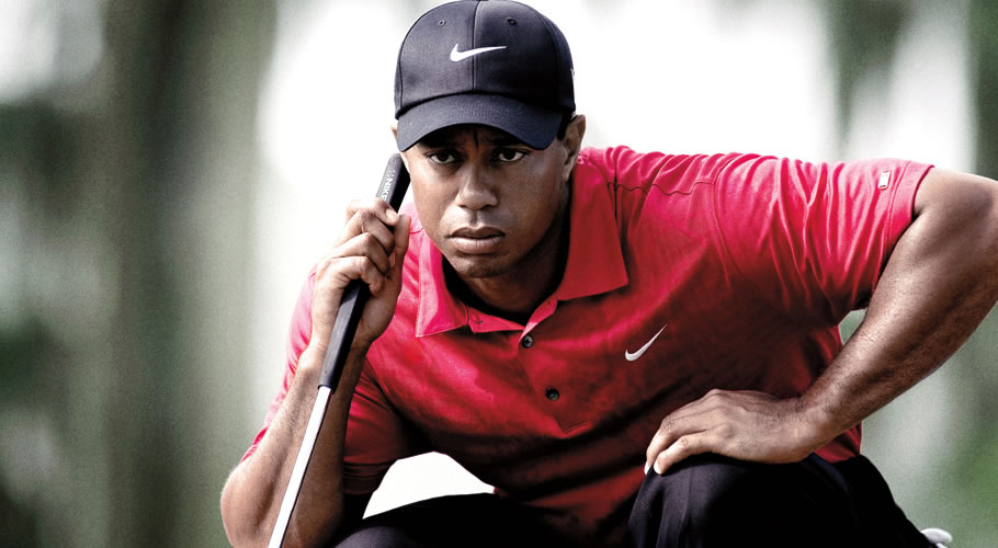 Tiger Woods' swing through the years