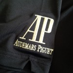 Audemars Piguet logo on the left sleeve