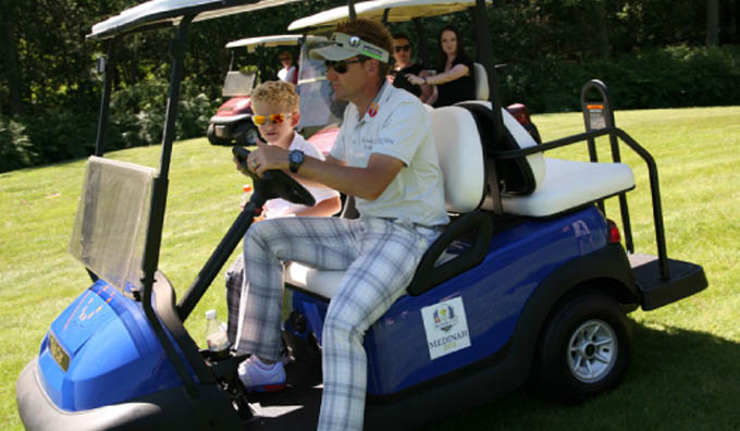 Win a day out with Ian Poulter and the IJP Team!
