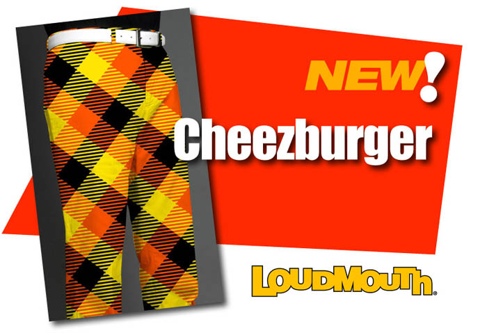 Loudmouth Cheezburger Design