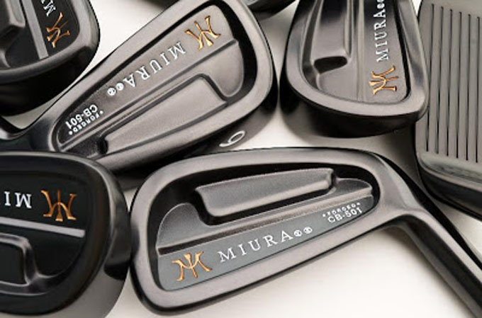 Miura's Black Boron Finish Irons hit the market in limited numbers