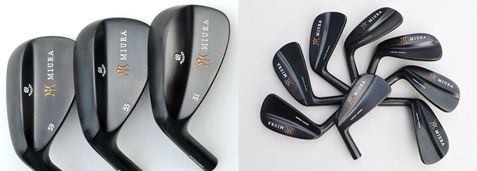 Miura adds hand-crafted irons and wedges for lefties