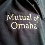 Mutual of Omaha branding on the left chest.