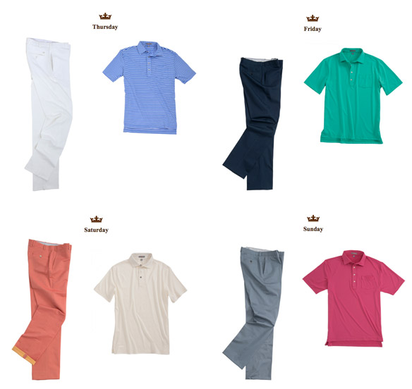 Brandt Snedeker's Apparel Script for the PGA Championship