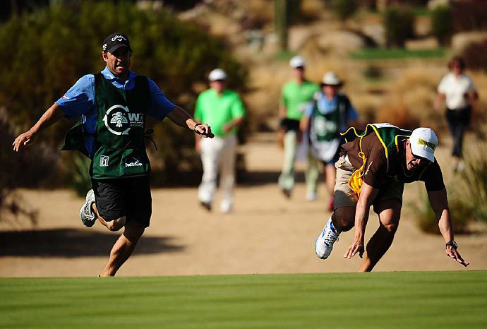 Caddie Races banned from WM Phoenix Open and Crowne Plaza Invitational