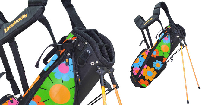 Loudmouth Golf Magic Bus Golf Bag