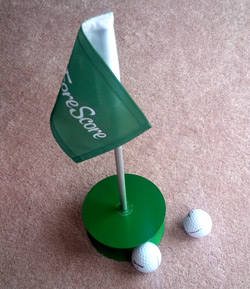 Our Putt-A-Round gets a lot of use!