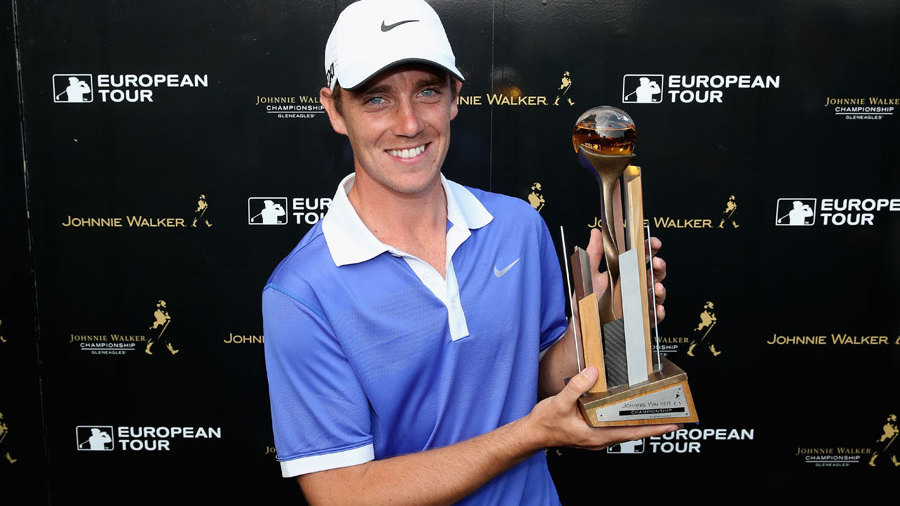 Tommy Fleetwood's winning bag from the Johnnie Walker Championship