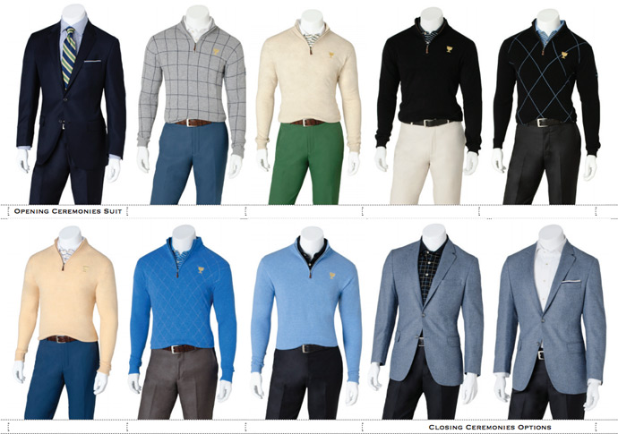 Insider Look: International Team apparel scripts for the 2013 Presidents Cup