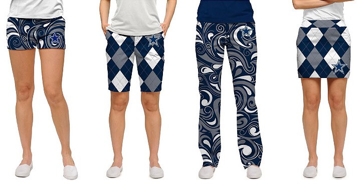 Dallas Cowboys inspired golf apparel from Loudmouth