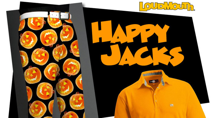 Loudmouth reveals 'Happy Jacks' shorts and pants