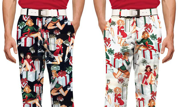 Loudmouth ups the Christmas ante with new 'Ho! Ho! Ho!' pants