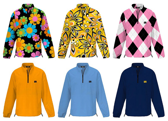 Loudmouth Windshirts back in stock for fall