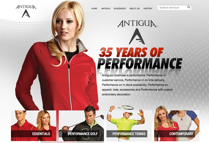 Antigua launches brand new website