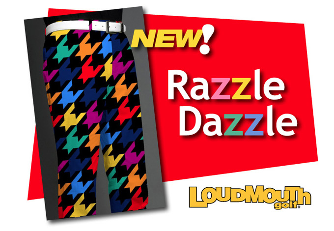 Loudmouth shows off new 'Razzle Dazzle' design