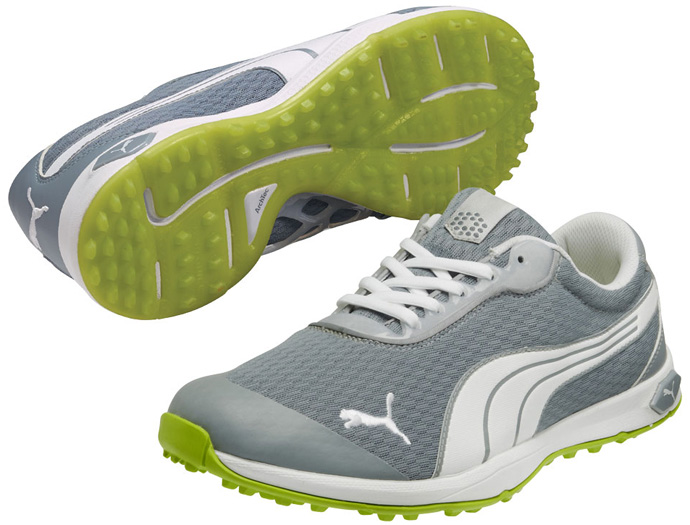 Puma Debuts BIOFUSION Spikeless Mesh Golf Shoes
