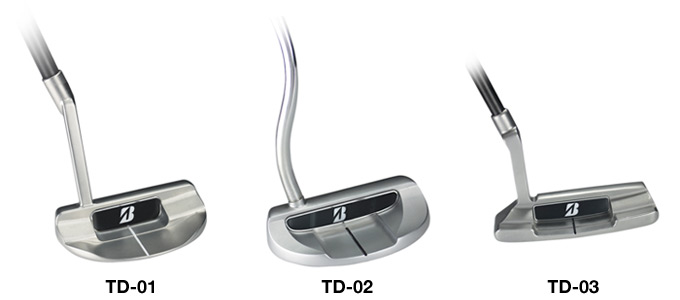 Bridgestone rolls to the green with True Balance Putters