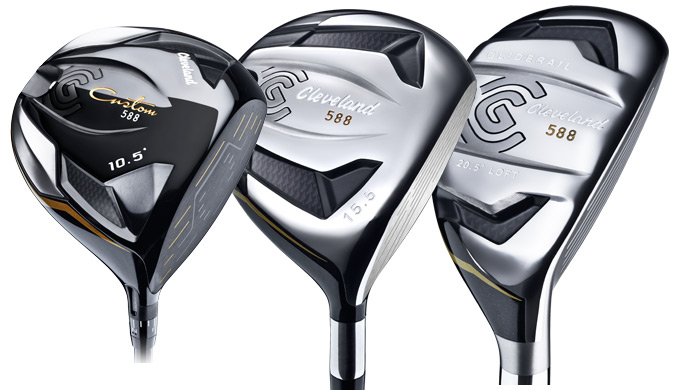 Cleveland Golf introduces 588 Woods