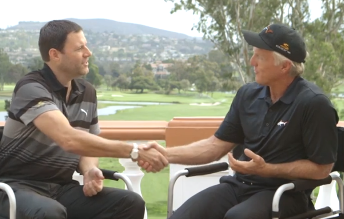 Greg Norman signs with Cobra Golf