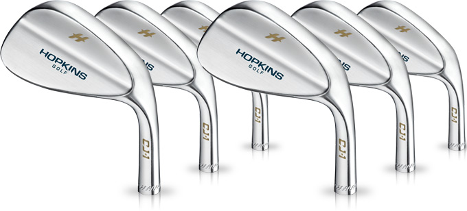 Hopkins now offering CJ-1 Wedges in Satin Chrome
