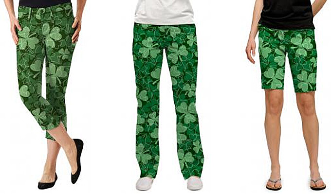 Loudmouth unveils 'Lucky' apparel ahead of St. Patty's Day