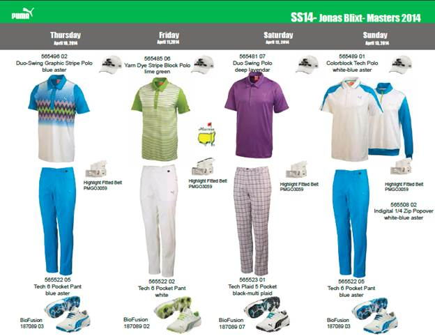Jonas is all set to look sharp at the 2014 Masters