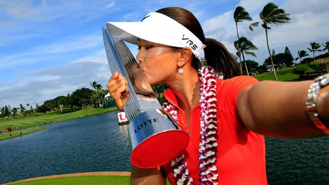 Michelle Wie's winning equipment from the LPGA Lotte Championship