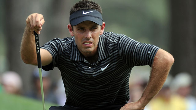 Charl Schwartzel's apparel script for the 2014 Masters