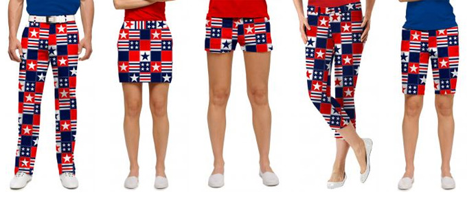 Loudmouth 'Betsy Ross' Design now available