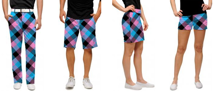 Miami Slice golf apparel from Loudmouth