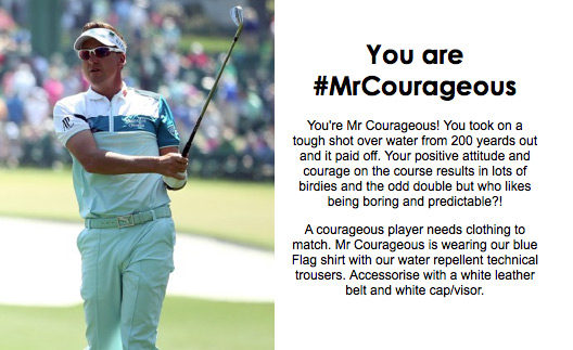 Turns out I am 'Mr. Courageous'