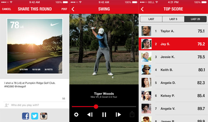 Nike Golf unveils update to NG360 app