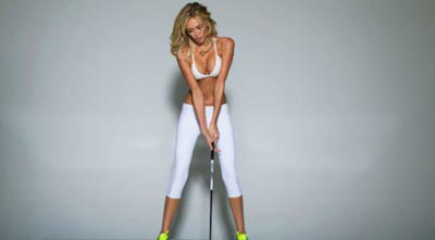 Paulina Gretzky was featured in the May edition of Golf Digest.