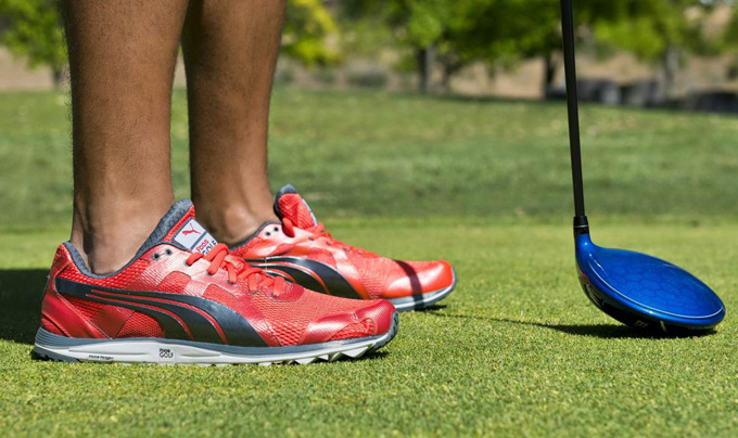 Puma Golf's Faas Lite Mesh 2.0 golf shoe