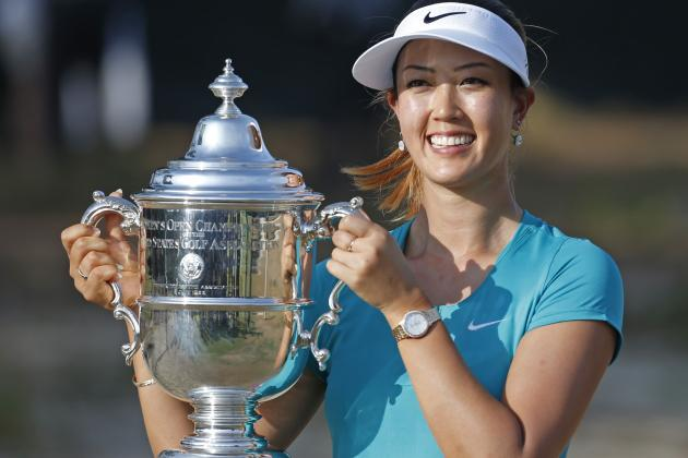 Michelle Wie's winning equipment from the Women's U.S. Open