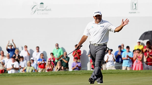 Angel Cabrera's winning equipment from the Greenbrier Classic