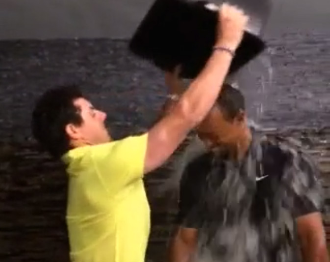 Tiger and Rory take the #IceBucketChallenge