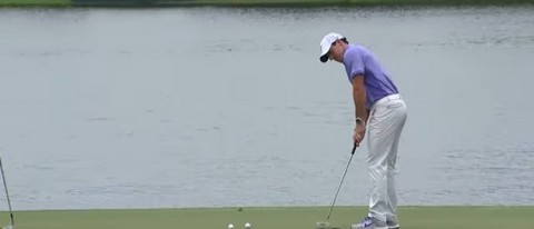 Rory McIlroy sinks 55 putts in a row